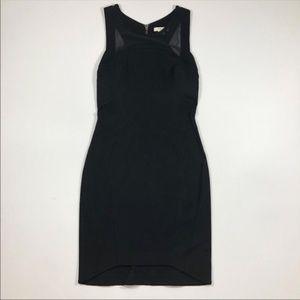 Helmut Lang Black Body Con LBD Little Black Dress